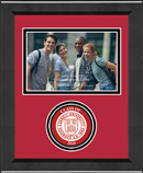 Cornell University Photo Frame - Lasting Memories Circle Logo 'Class of 2016' Photo Frame in Arena