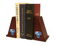 Villanova University Bookends - Spirit Medallion Bookends
