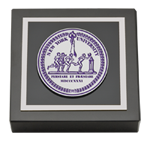 New York University Paperweight - Masterpiece Medallion Paperweight