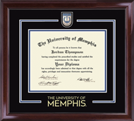 The University of Memphis Diploma Frame - Showcase Edition Diploma Frame in Encore