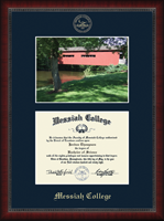 Messiah College Diploma Frame - Campus Scene Diploma Frame in Sutton