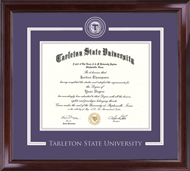 Tarleton State University Diploma Frame - Showcase Edition Diploma Frame in Encore