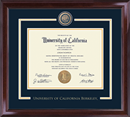 University of California Berkeley Diploma Frame - Showcase Edition Diploma Frame in Encore