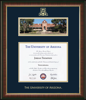 The University of Arizona Diploma Frame - Campus Scene Edition Diploma Frame in Murano