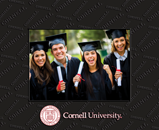 Cornell University Photo Frame - Spectrum Pattern Photo Frame
