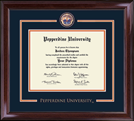 Pepperdine University Diploma Frame - Showcase Edition Diploma Frame in Encore