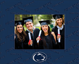 Pennsylvania State University Photo Frame - Spectrum Pattern Photo Frame