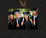 Millersville University of Pennsylvania Photo Frame - Spectrum Pattern Photo Frame
