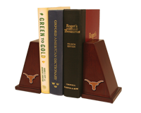 The University of Texas Austin Bookends - Spirit Medallion Bookends