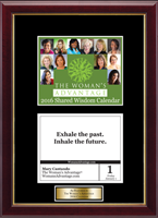 The Woman's Advantage Calendar Frame - 2016 'Quote of The Day' Calendar Page Frame with Goldtone Plate in Galleria