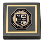 New Mexico Institute of Mining & Technology Paperweight - Masterpiece Medallion Paperweight