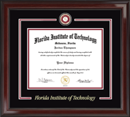 Florida Institute of Technology Diploma Frame - Showcase Edition Diploma Frame in Encore