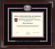 Phillips Exeter Academy Diploma Frame - Showcase Edition Diploma Frame in Encore