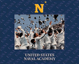 United States Naval Academy Photo Frame - Spectrum Pattern Photo Frame