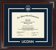 University of Connecticut Diploma Frame - Spirit Medallion Diploma Frame in Encore