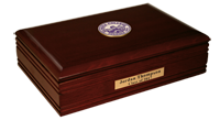 Elmira College Desk Box - Masterpiece Medallion Desk Box