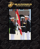 United States Marine Corps Photo Frame - Spectrum Pattern Photo Frame