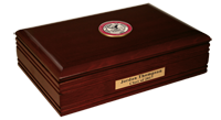 St. John's University, New York Desk Box - Masterpiece Medallion Desk Box
