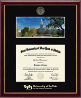 University at Buffalo Diploma Frame - South Campus Scene Diploma Frame in Galleria