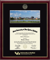 University at Buffalo Diploma Frame - North Campus Scene Diploma Frame in Galleria