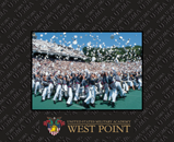 United States Military Academy Photo Frame - Spectrum Pattern Photo Frame