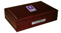 New York University Desk Box - Spirit Medallion Desk Box