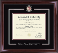 Texas A&M University Diploma Frame - Showcase Edition Diploma Frame in Encore