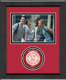 Cornell University Photo Frame - Lasting Memories Circle Logo 'Class of 2017' Photo Frame in Arena