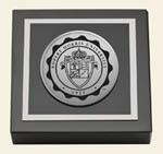 Robert Morris University in Pennsylvania Paperweight - Silver Engraved Medallion Paperweight