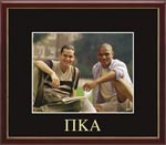 Pi Kappa Alpha Photo Frame - Embossed Greek Letters Photo Frame in Galleria