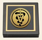 Veterinary Gifts and Desk Accessories Paperweight - Gold Engraved Medallion Paperweight