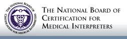 National Board of Certification for Medical Interpreters